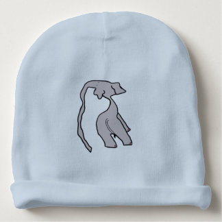 The Elephant With The Really Really Long Nose Baby Beanie