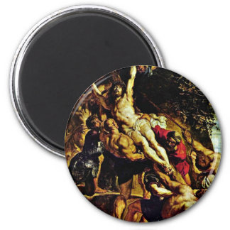 The Elevation Of The Cross By Rubens Peter Paul Magnets