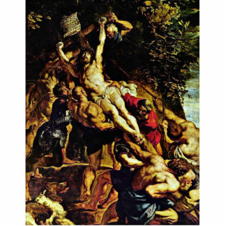 The Elevation Of The Cross By Rubens Peter Paul Statuette
