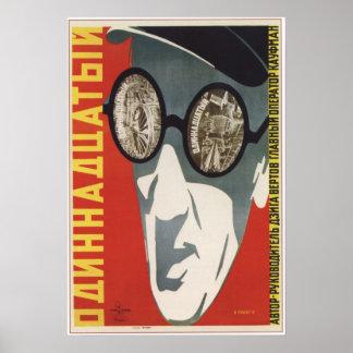 The Eleventh Year by Dziga Vertov USSR 1928 Poster