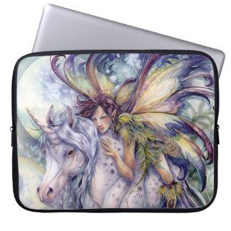 The Elf & The Unicorn Laptop Sleeve