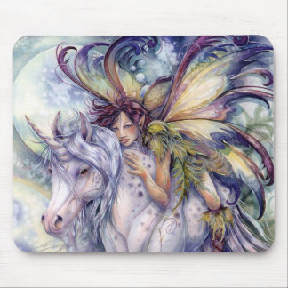 The Elf & The Unicorn Mouse Pad