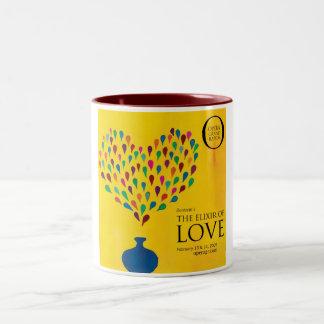 The Elixir of Love Two-Tone Coffee Mug
