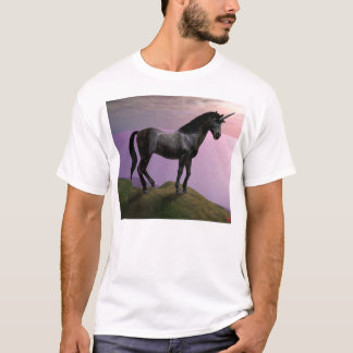 The Elusive Black Unicorn T-Shirt