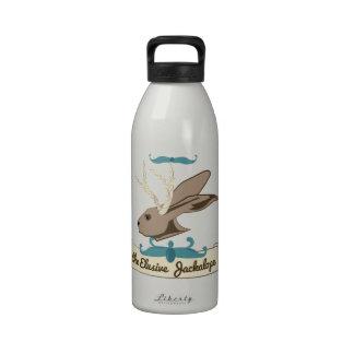 The Elusive Jackalope Water Bottle