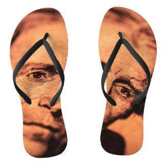 The Elusive President Jackson Flip Flops