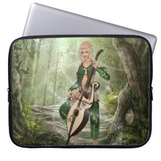The Elven Forest Neoprene Laptop Sleeve
