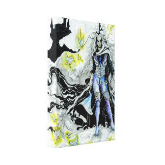 The Elven Wizard Wrapped Canvas