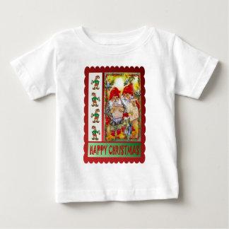The elves go carol singing baby T-Shirt