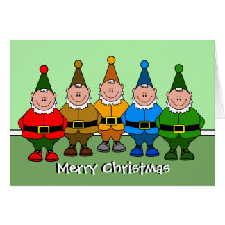 The Elves Greeting Card