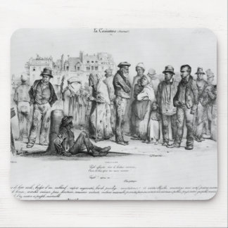 The Emancipated People, from 'La Caricature' Mouse Pad