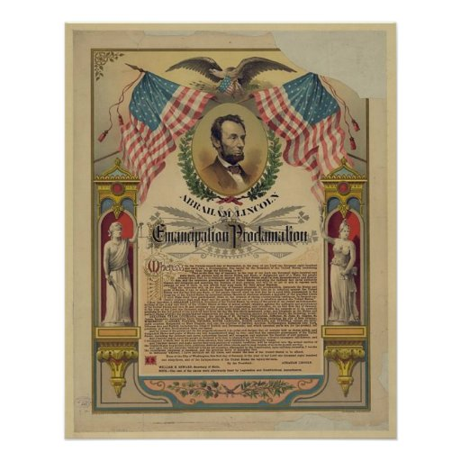 The Emancipation Proclamation Document Print
