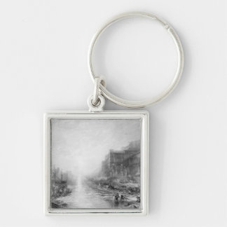 The Embarkation of Regulus, Ancient Carthage, engr Keychain