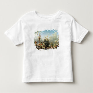 The Embarkation of Ruyter and William de Witt Toddler T-shirt