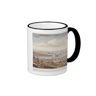 The Embarkation of the English in Holland, 30 Nove Coffee Mug