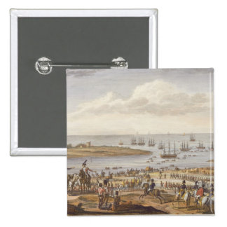 The Embarkation of the English in Holland, 30 Nove Pinback Button