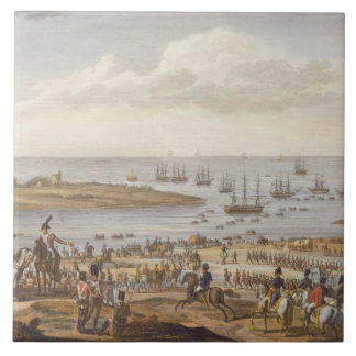 The Embarkation of the English in Holland, 30 Nove Tile