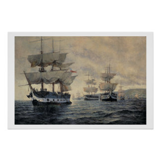 The Embarkation of the Liberating Expedition of Pe Print