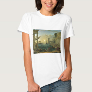 The Embarkation of the Queen of Sheba by Lorrain Shirt