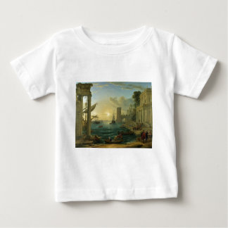 The Embarkation of the Queen of Sheba by Lorrain T-shirt