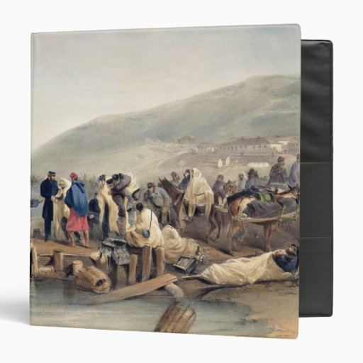The Embarkation of the Sick at Balaklava Vinyl Binders