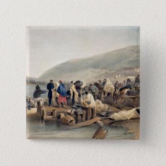 The Embarkation of the Sick at Balaklava Button