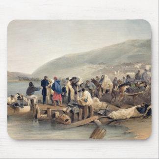 The Embarkation of the Sick at Balaklava Mouse Pad