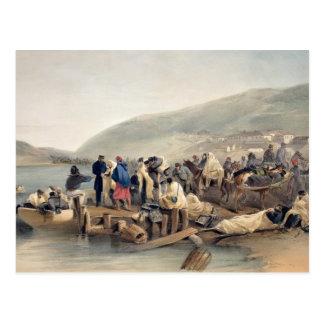 The Embarkation of the Sick at Balaklava Postcard