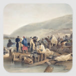 The Embarkation of the Sick at Balaklava Stickers