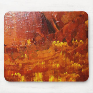 The Embers Of The Fire Mouse Pad