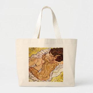 The Embrace, 1917 Jumbo Tote Bag