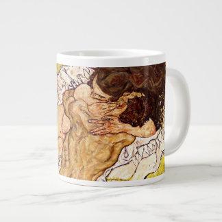 The Embrace, 1917 Large Coffee Mug