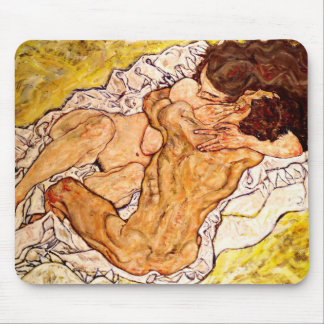 The Embrace, 1917 Mouse Pad