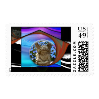 The Embrace Postage Stamps