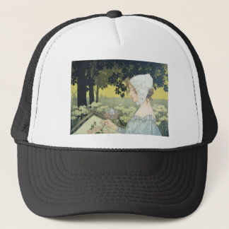 THE EMBROIDERER  LA BRODEUSE TRUCKER HAT