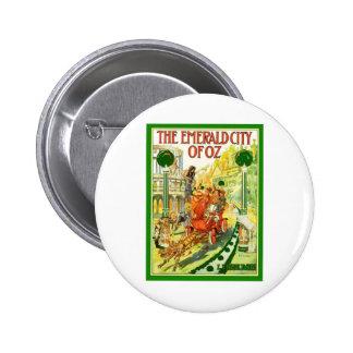 The Emerald City Of Oz Button