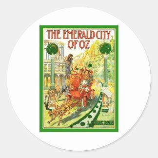 The Emerald City Of Oz Classic Round Sticker