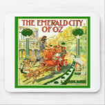 The Emerald City Of Oz Mouse Mats