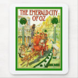 The Emerald City Of Oz Mouse Pad