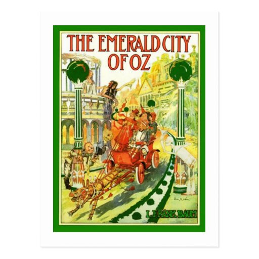 The Emerald City Of Oz Post Card