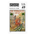 The Emerald City of Oz Postage Stamps