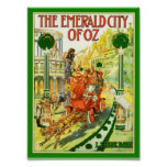 The Emerald City Of Oz Print