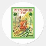 The Emerald City Of Oz Round Sticker