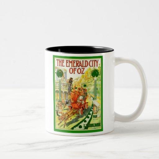 The Emerald City Of Oz Two-Tone Coffee Mug