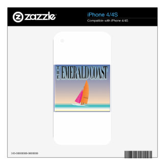 The Emerald Coast Skin For The iPhone 4