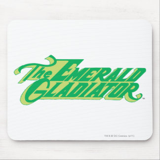 The Emerald Gladiator Mouse Pad