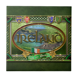 The Emerald Isle Ceramic Tile