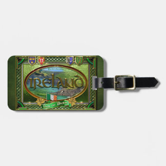 The Emerald Isle Luggage Tag