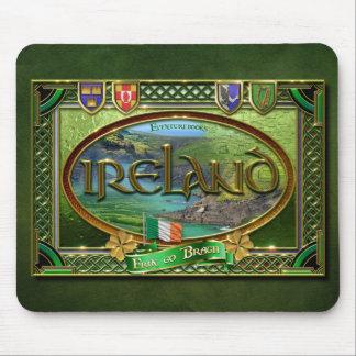 The Emerald Isle Mouse Pad