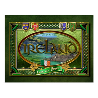 The Emerald Isle Postcard